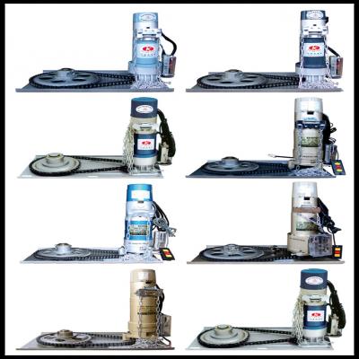 常见的电动卷帘门品种